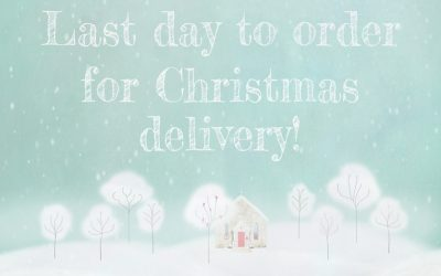 Dec 12, 2018 – Last Day to Order Online