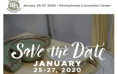 Save the Date – American Handcrafted 2020