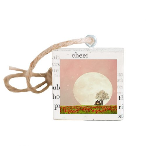 Strawberry Moon Ornament