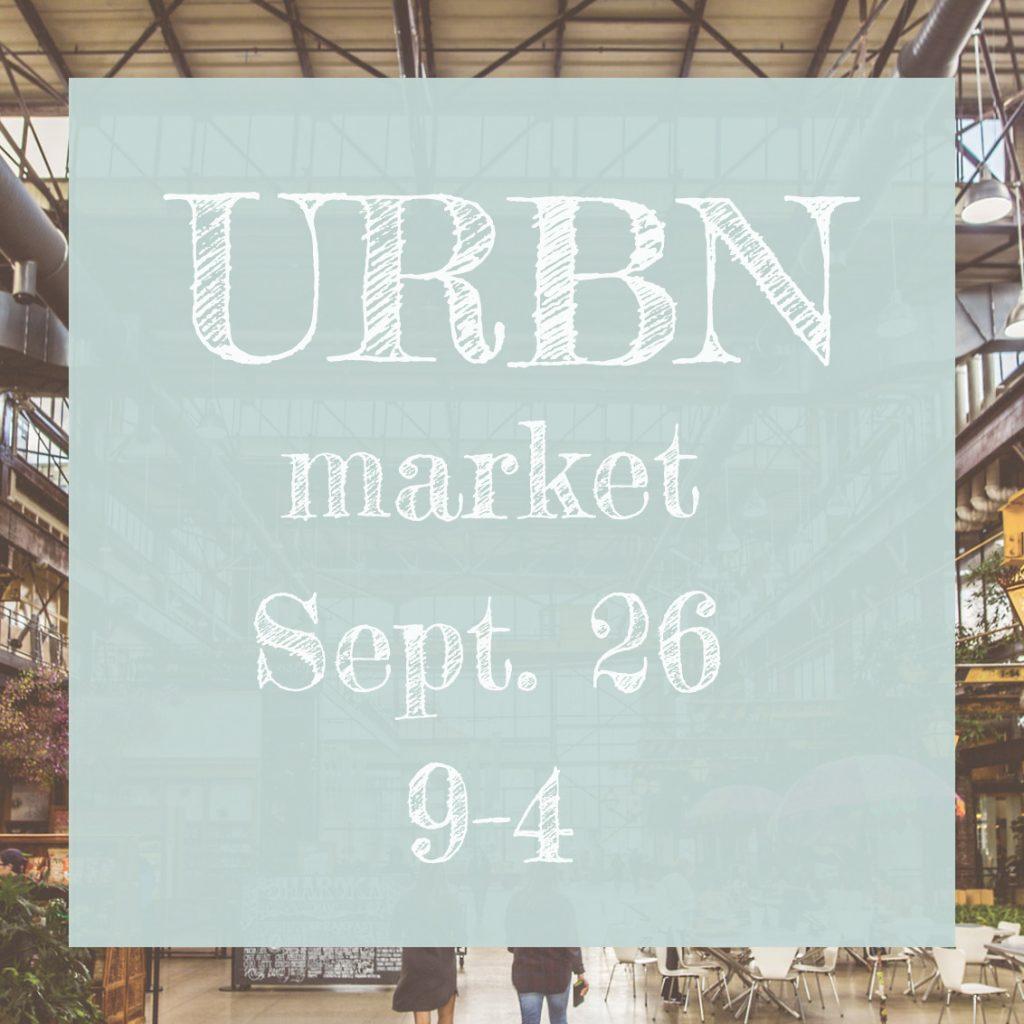 URBN Market September 26 9-4 p.m.