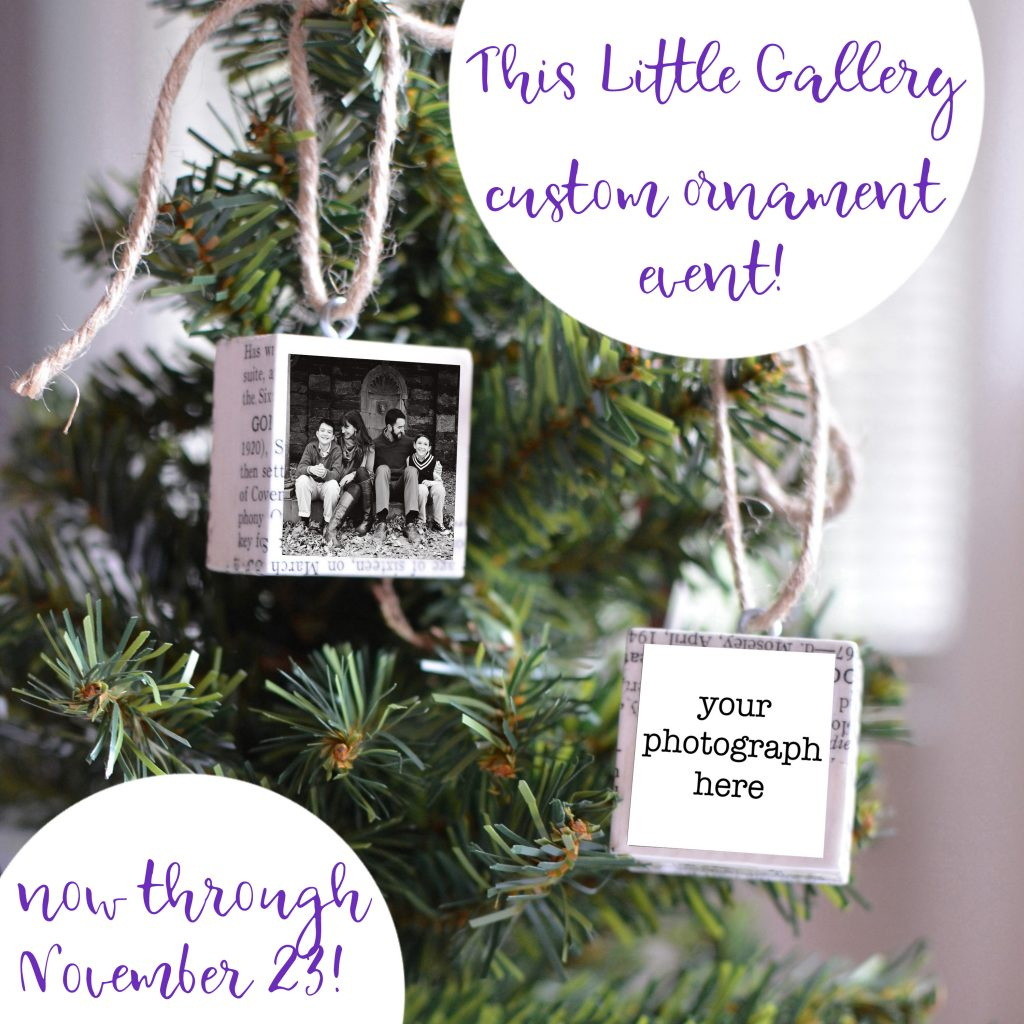 Custom Ornaments at This Little Gallery