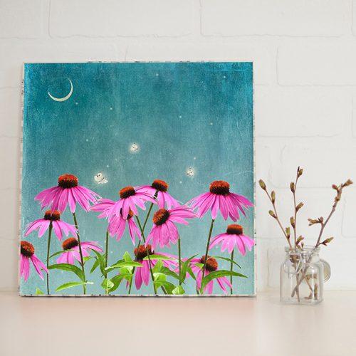Fireflies Large Art Block