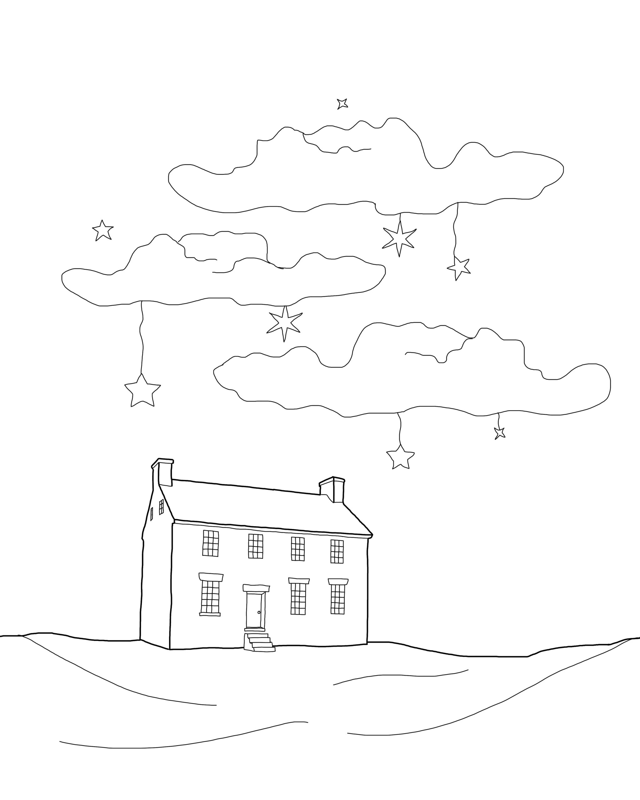 Light The Way Coloring Page