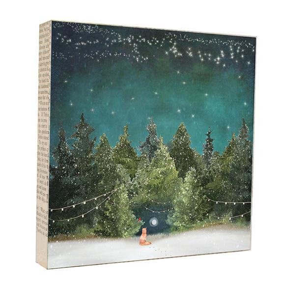 Hidden Moon Art Block