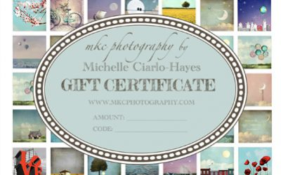 MKC Photography Gift Certificates Now Available