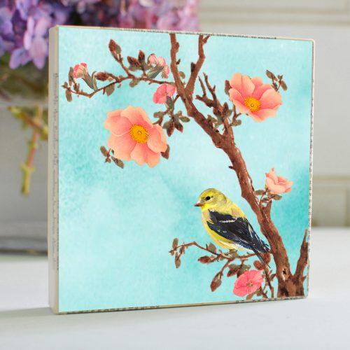 Yellow Bird Art Block