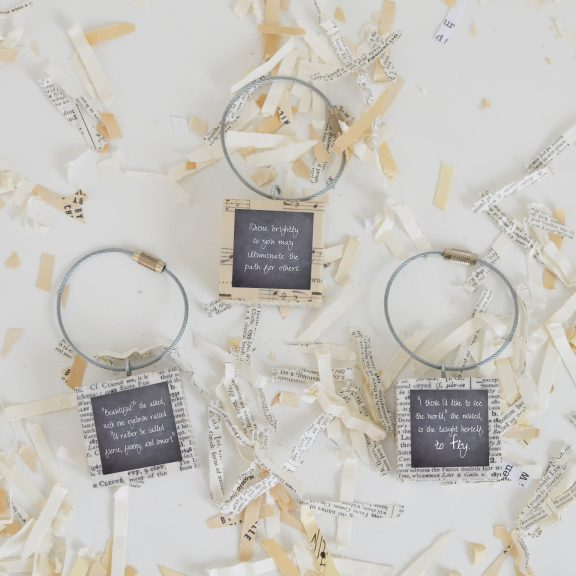 Inspirational Keychain Set