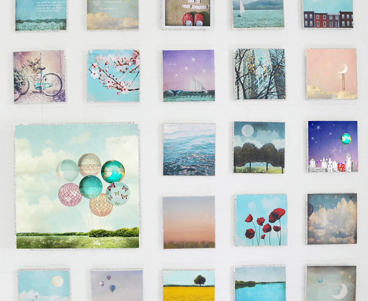 5x5 art block collection