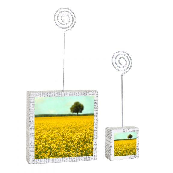 Yellow Fields Photo Holders