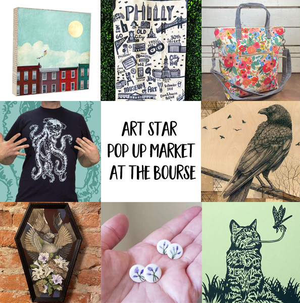 Art Star Pop Up Market at The Bourse