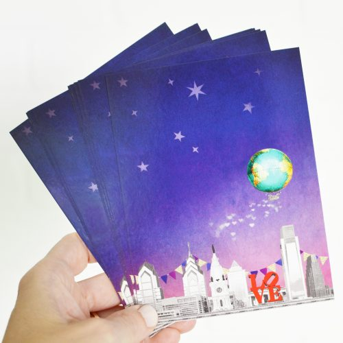 Float On Notecards