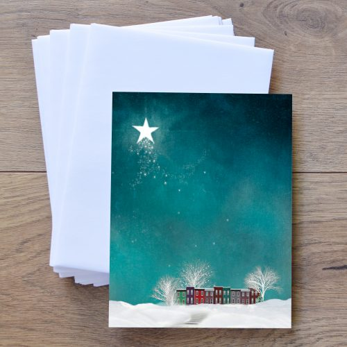 Winter Magic Notecards and Envelopes