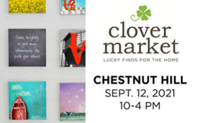 September 12, 2021: Chestnut Hill Clover Market