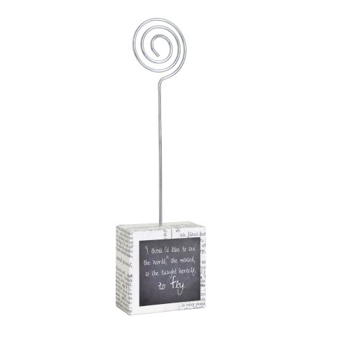 Fly Black and White Small Photo Holder