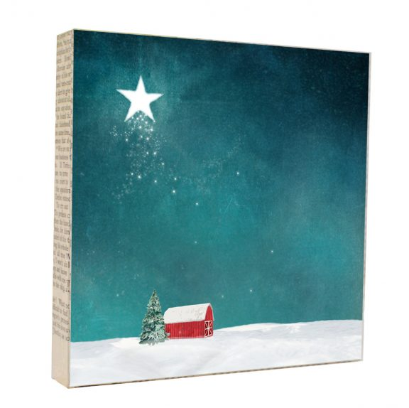 Night Star Art Block