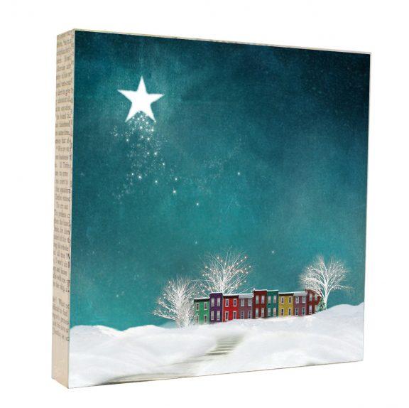 Winter Magic Art Block