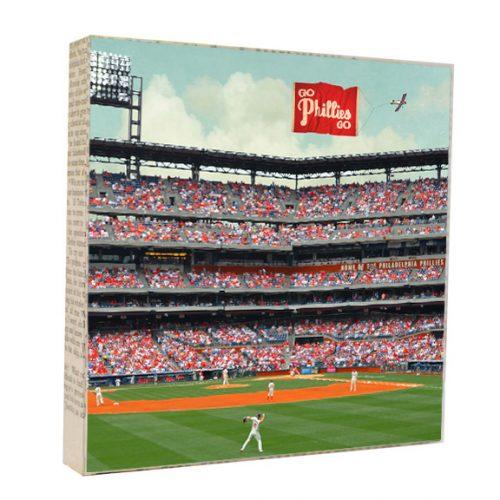 Go Phillies Go Art Block