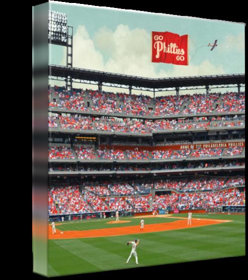 Go Phillies Go Canvas